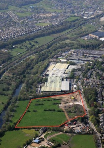 The site of the new Baildon Business Park