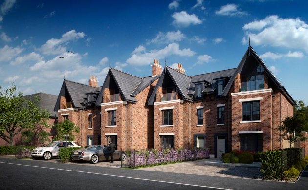 Alderley Villas, Trafford Road, Alderley Edge: CGI by ARC