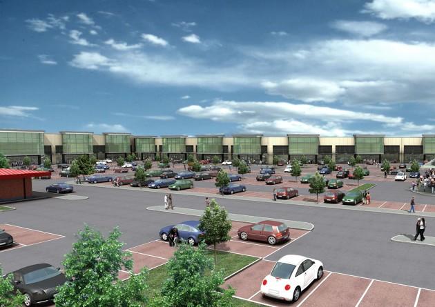 The White City retail park