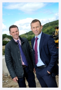 Mark Taylforth and Andrew Russell are delivering the £15m business park as part of a joint venture