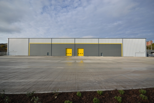 The 50,000 sq ft unit at Victory Park in Sheffield