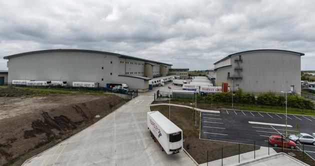 Yearsley Logistics' Heywood superhub