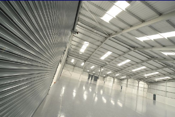 One of Quorum's refurbished units at Linkway Trading Estates